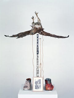 """Untitled (Buzzard),"" 1968."