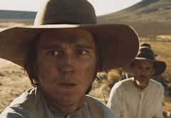 """I'm only getting how many close-ups?"" Paul Dano in <i>Meek's Cutoff</i>."