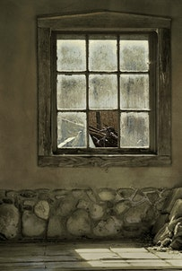 """Broken Window, Lincolm, NM,"" courtesy of Steven A. Jackson."