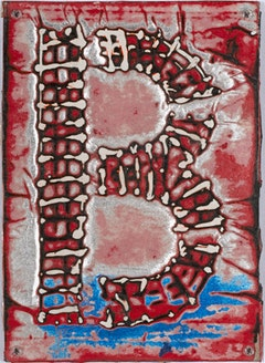 "Mark Bradford, ""Untitled (B)"" (2010). Courtesy the Studio Museum in Harlem."