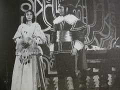 Maria Callas in Verdi's <i>Un Ballo in Maschera</i>. Photo by Maria Pazos Plaza.
