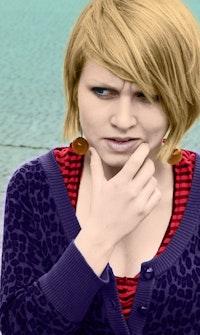 Dorota Maslowska. Photo by Marcin Nowak.