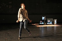 "Adam Scher, ""Five Blind Mice."" Photo by Julie Lemberger."