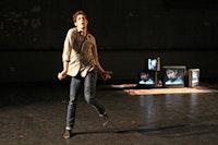 """Adam Scher, """"Five Blind Mice."""" Photo by Julie Lemberger."""