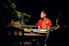 Natthakarn Aphaiwonk, left, as Huay with Sakda Kaewbuadee as Tong in Apichatpong Weerasethakul's Uncle Boonmee Who Can Recall His Past Lives. Courtesy of Strand Releasing.
