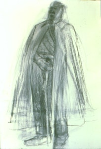 Noa Bornstein, <i>untitled</i>, 1999, charcoal on paper