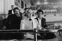 © Miramax Films Bruce Greenwood, Charles Aznavour, and Eric Bogosian star in Atom Egoyan's <i>ARARAT</i>.