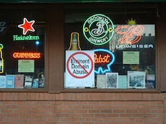 Freddie's Bar on Dean Street at the corner of what is proposed to be the commercial section of the development.