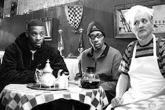 GZA, RZA, and Bill Murray in Jarmusch's