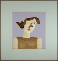 "Jim Nutt, ""Bump"" (2008). Nelson-Atkins Museum of Art, Kansas City, MO; Courtesy David Nolan Gallery, New York."