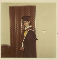Graduation day, May 1970.