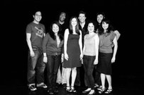 Poetic Power People: (left to right) Justin Woo, Erica R. DeLaRosa, Frantz Jerome, Tara Bracco, Nate Gunsch, Angela Kariotis, Andy Emeritz, Shetal Shah. Photo by Ashley Faison.