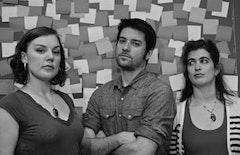 Making the Cut: Nicole Beerman, Joe Varca, and Megan Hill.
