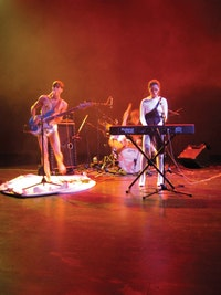 The John Carpenter Band performs in <i><strike>Performance</strike></i> (career ender). 