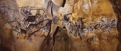 Drawings from the Chauvet Caves. Courtesy of Don's Maps.