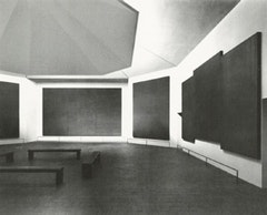 Rothko Chapel (interior), skylight with deflection baffle, 1976.