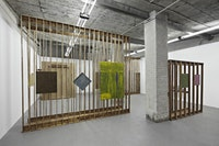 Installation view: Øystein Aasan. SOLO-SHOW. PSM, Berlin. Photo Credit: Hans-Georg Gaul