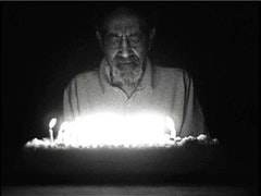 Kevin Jerome Everson (b. 1965), still from Ninety-Three, 2008. 16mm film transferred to video, black-and-white, silent; 3 minutes.  Courtesy the artist and Picture Palace Pictures.