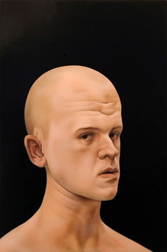 "Matthew Miller, ""Untitled"", 2011. Oil on panel,  27 × 24. Photo Credit: Travis Dubreuil."