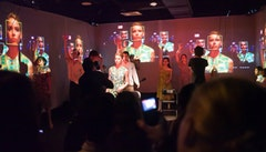 James Franco's <i>Collage</i> at Stella Adler Studios. Courtesy of the artist.