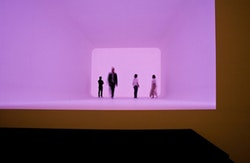 "James Turrell, ""Ganzfeld APANI,"" 2011. Approx. 2000 × 1120 × 660 cm. Courtesy Häusler Contemporary Munich / Zurich and La Biennale di Venezia. Photo: Francesco Galli."