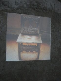 "Asier Mendizabal, ""Soft Focus,"" 2011. Slide projector, timer, 80 slides. Installation view, 54th Venice Biennale."