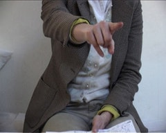 <em>Monolog </em>(2009), directed by Laure Prouvost. All images: Migrating Forms.
