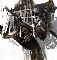 "Charline von Heyl, ""Bluntschli,"" 2005. Courtesy of the Artist."