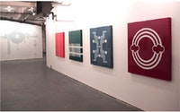 Ryan McGinness, <em>Vocabularytest</em>, Joseph Silvestro Gallery, Brooklyn, NY, May 5-June 3, 2001.