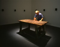 <p>Janet Cardiff, <em>To Touch</em>, 1993-4. Photo: Courtesy of the artist, Luhring Augustine, New York and Galerie Barbara Weiss, Berlin.</p>