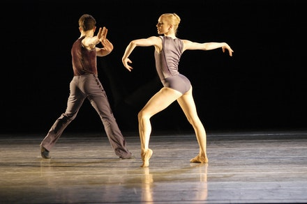 Sarah Lamb and Joel Prouty of Boston Ballet in Jorma Elo's
