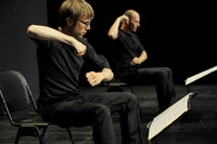 More Mouvements fur Lachenmann by Xavier LeRoy, photo by Monika Rittershaus, courtesy F I A F.