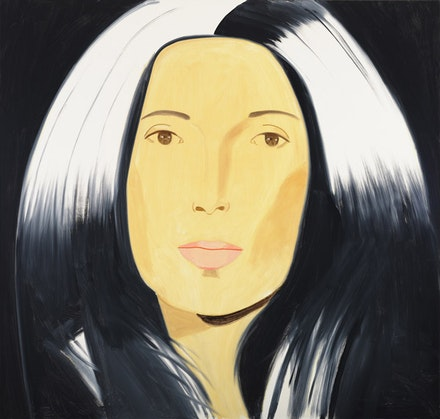 "Alex Katz, ""Anna,"" 2010. Oil on linen. 80 x 84"". Courtesy of Gavin Brown's Enterprise."