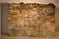"Linda Cross, ""Natural History,"" 2011. Mixed materials. 102 x 140 x 12"". Photo courtesy of Carrie Haddad Gallery, Hudson N Y."