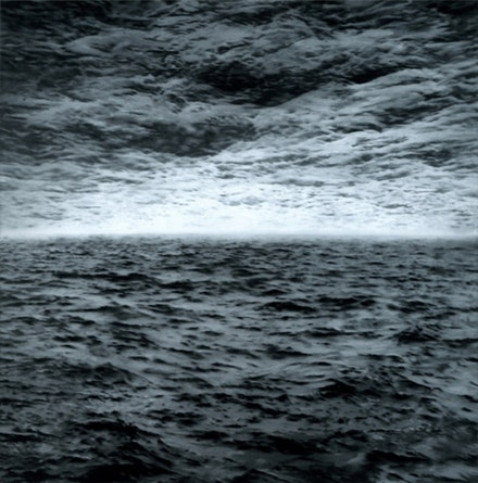 """Seascape (Sea-Sea)"" © Gerhard Richter 2011."