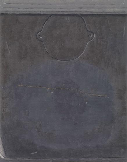 """""""Cracked Back,"""" 2011. Oil on linen, 18 x 14˝. Courtesy of Sikkema Jenkins & Co."""