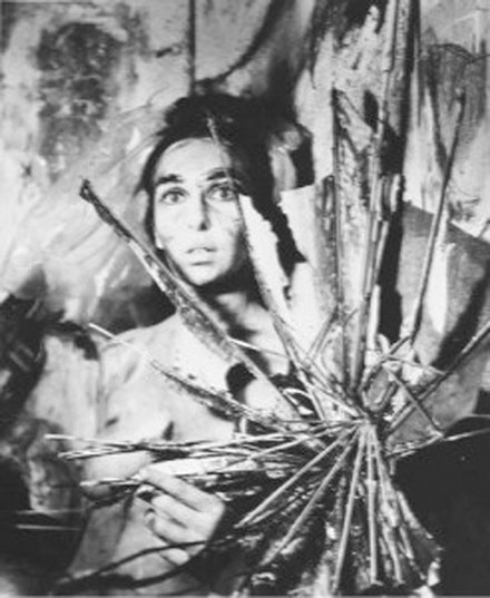 "Carolee Schneemann, ""Eye Body,"" 2004. 1963/2004. 18 silver gelatin prints, 24 x 20"", edition of 8."