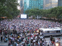 HBO Bryant Park Summer Film Festival. Credit: Ethan Lercher. Bryant Park Corporation.