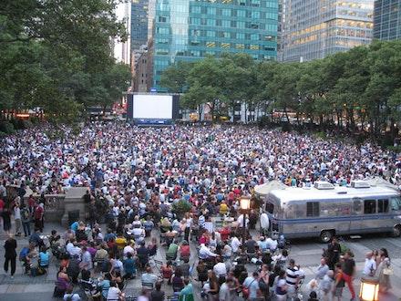 HBO Bryant Park Summer Film Festival. Credit: Ethan Lercher. Bryant Park Corporation.