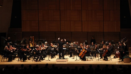American Composers Orchestra. Courtesy RMK Photos.
