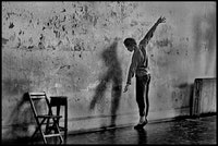 Merce Cunningham at 498 3rd Ave, November 1970.  Photo credit: James Klosty.