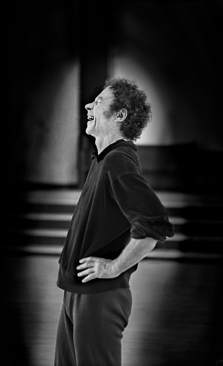 Merce Cunningham at Westbeth, June 1971. Photo credit: James Klosty.
