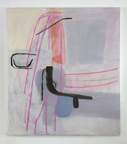 "Amy Sillman, ""The Slight One,"" 2011. Oil on canvas. Copyright: Capitain Petzel, Berlin."