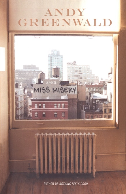 Andy Greenwald's <i>Miss Misery</i>. Courtesy of Simon and Schuster