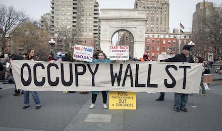 Occupy Teach-In at Washington Square (1-29-12). Photos by Zack Garlitos.