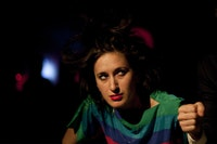 Hannah Heller, as Evelyn. Photo credit: Zachary Brown.