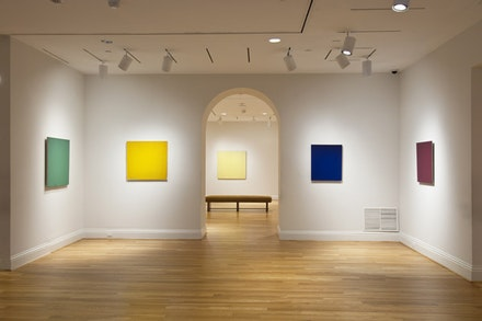 <i>Eye to Eye: Joseph Marioni at the Phillips</i>. Photo credit: Lee Stalsworth.
