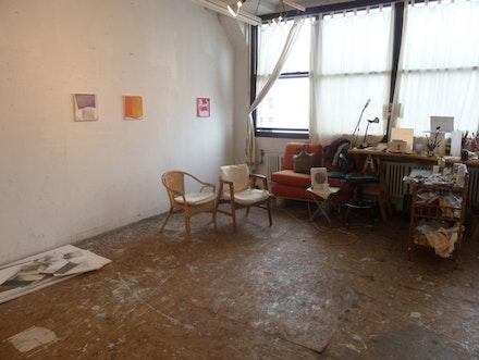 Shoshana Dentz's studio. Photo credit: Zachary Wollard.