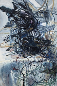 "Susanna Heller, ""Taratoma Cloud,"" 2011. 60 x 40"", oil on canvas."