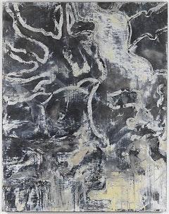 "Bill Jensen, ""Black Sorrow (I),"" 2010-11. Oil on linen, 53 x 42"". Courtesy Cheim & Read, New York."